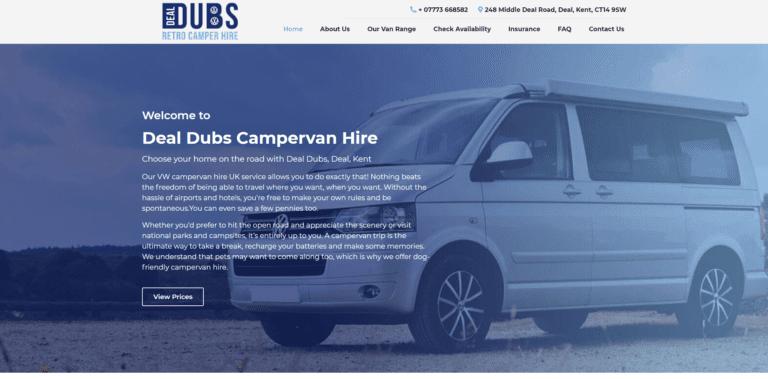 Deal Dubs - Website Homepage